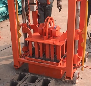 Factory Price Small Cement Block Making Machine Sale In Ethiopia QMY2-45