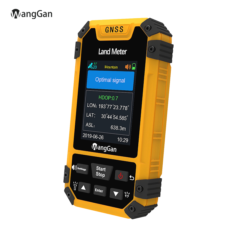 High Accuracy GPS Land Meter Land Survey Meter Handheld Area Measurement Mountain And Slope Measurement