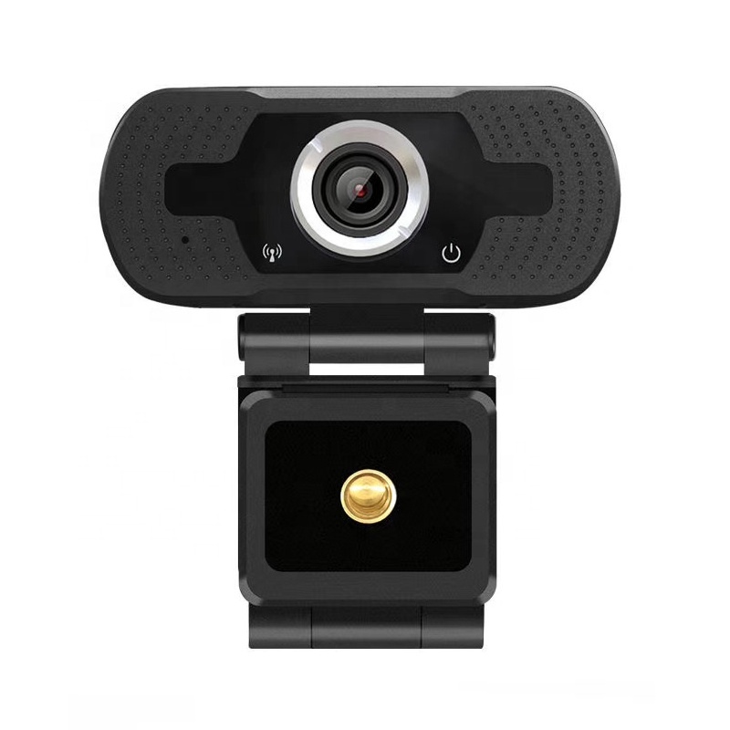 Multi-functional Computer Student Webcam FullHD 1080P PC Digital Camera for Student Study Online Video Calling Working Meeting