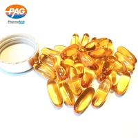 OEM Vegan Omega 3 Fish Oil 1000Mg Softgel Capsule