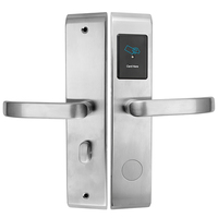 Best Security Hotel Sale Products Electronic Key Card Rfid Hotel Door Lock With Management SoftwareSystem