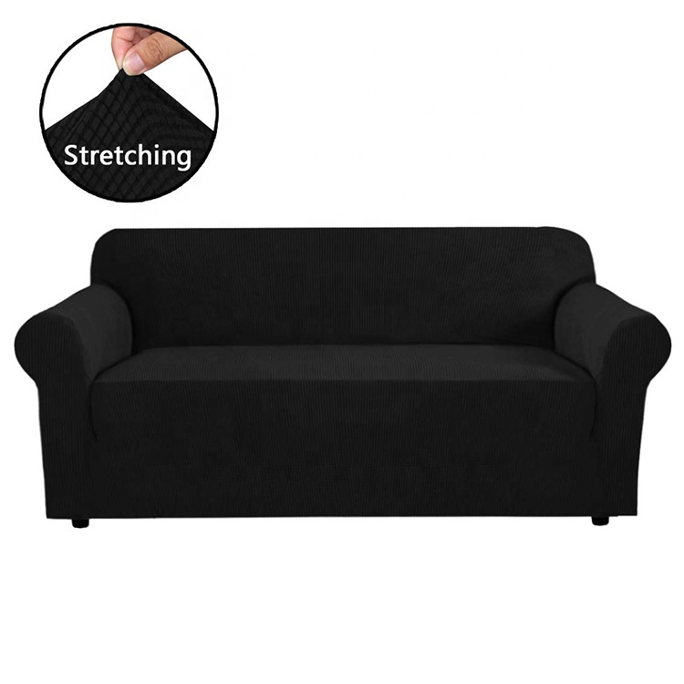 Polyester Non Slip Soft Couch Double