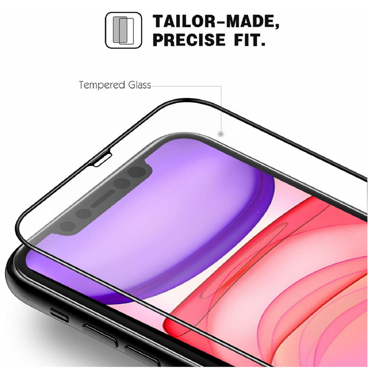 MoKo [3-Pack] 9H Hardness Scratch Resistant Tempered Glass Screen Protector for Apple iPhone 11/iPhone XR