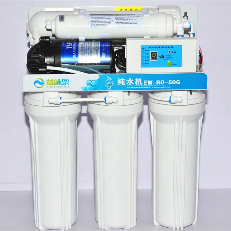 5~8 stages RO 50 75 100 200 300 400 GPD <strong>water</strong> purifier filter <strong>system</strong>