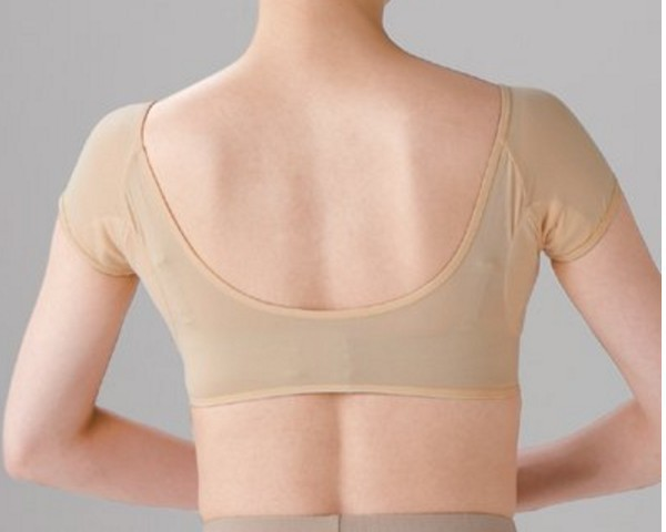 Lynmiss Washable Women Sweat Guard Underwear Underarm Vest Sweat Absorbent Underwear with Containing Sweat Pad