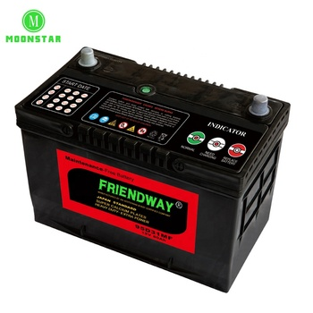 Top Quality long life service 55d23l mf 200ah truck battery with high quality
