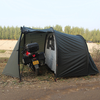 Camping folding cover outdoor storage canopy motorcycle tent for glamping