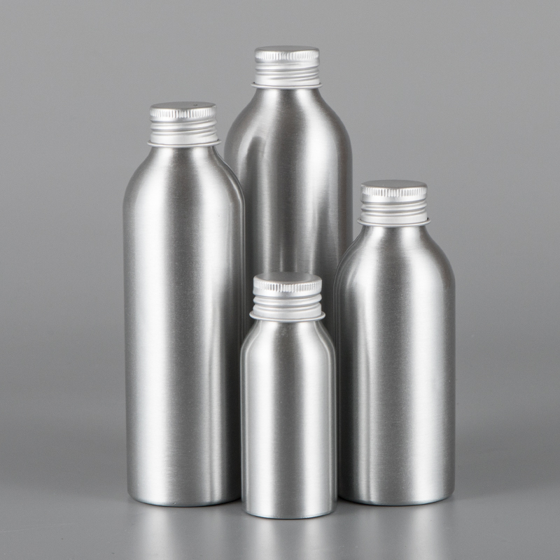 30ml 50ml 100ml 120ml 150ml 250ml 500ml essential oil aluminum bottle with aluminum lid ( without insert stopper and label )