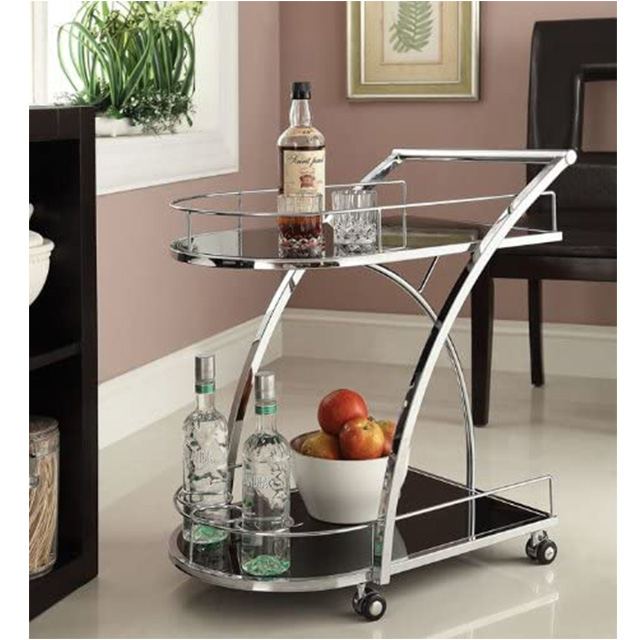 Bar Cart Stainless Steel Table For Home Decor