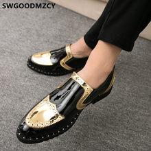 Мужская обувь с перфорацией типа «броги»; Формальная дизайнерская обувь; Мужская классическая Свадебная обувь; Коллекция 2020 года; Coiffeur; Муж...(Китай)