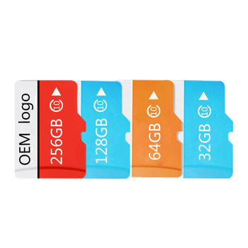 Bulk items Manufacturer TF SD Card Class10 High Quality 64G 128G 256GB Micro Memory Card made in Taiwan