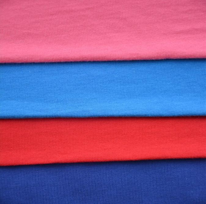 100% cotton Single jersey muslin Custom Combed cotton Muslin 32S knitted cotton fabric