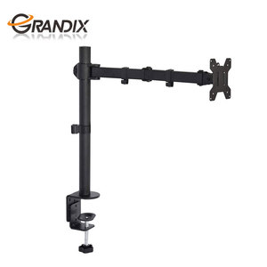 Fully Adjustable single  monitor brackets desk mount monitor arm