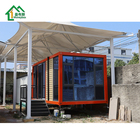 Luxury cabin housing prefab modular mobile porta container house