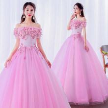 Женское свадебное платье It's YiiYa, голубое платье в пол с аппликацией и вырезом лодочкой размера плюс, CH084(China)