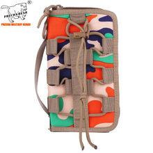 1000D Оксфордский Повседневный прочный Камуфляжный Тактический кошелек, военный чехол, сумка для фанатов армии, сумка для мужчин, кошелек, сум...(Китай)