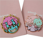 Custom high quality hard enamel pin silver lapel pin for hot sales