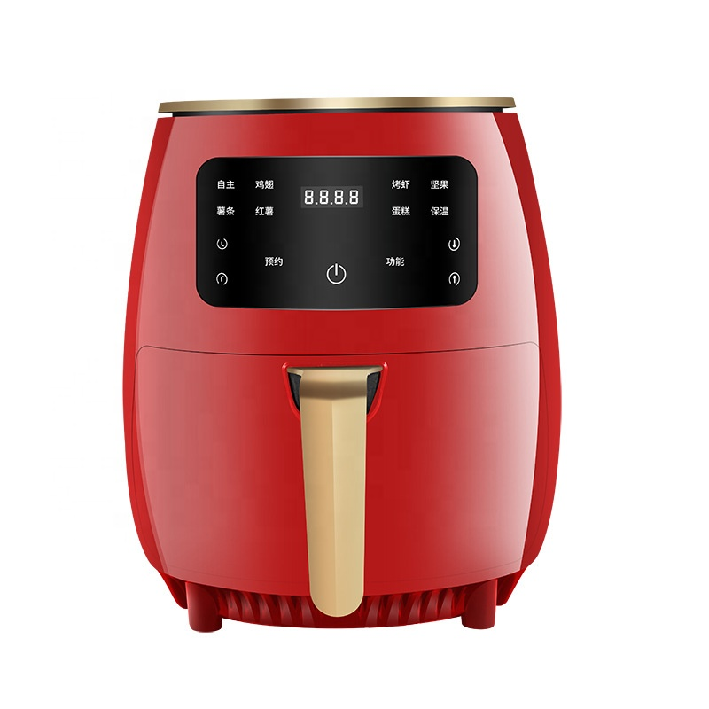 1500w 4.5L 5.2 Liters Multifunctional Air Fryer Kitchen Appliance Without Oil Nonstick Adjustable Thermostat Control Air Fryer