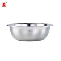 Durable cheap portable stainless steel baby wash basin/ foot wash basin