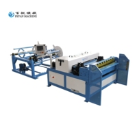 CNC rectangular HVAC auto duct machine line 3 / auto air duct production line III for making square pipes