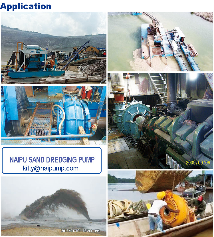 Suction Dredge Pump to Suck Mud and Sand