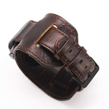 Ремешок для часов Crazy Horse, из кожи для Apple watch 44 мм 40 мм 38 мм 42 мм, сменный Браслет с металлической пряжкой iwatch 5 4 3 2 1 Sport Edition(Китай)