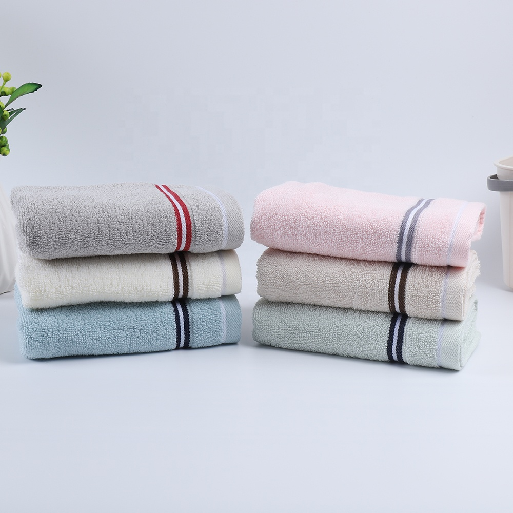 Soft Touch New Design to Sale Clean 100% Cotton Face Towel Customized Personalized