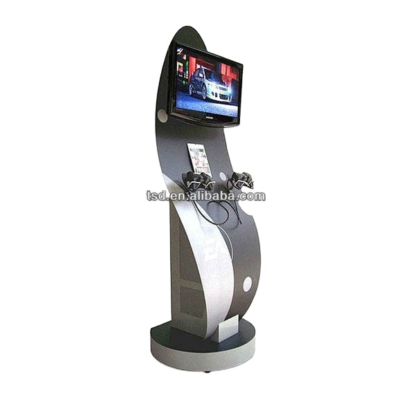 China Factory Supply Advanced Floor Standing Metal Video Game Kiosk For Sale Video Game Display Stand Buy Video Game Kiosk For Sale Video Game Display Stand Game Display Rack Product On Alibaba Com