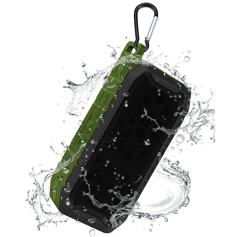 FM TF AUX Neueste Super Bass Desktop Ipx5 Sport Freisprecheinrichtung Tragbare Wasserdichte Outdoor Mini Wahre Drahtlose Lautsprecher für jbl sony