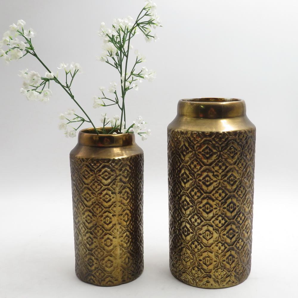 Trắng Gốm Sứ Trung Quốc Nghệ Thuật Và Thủ Công Mỹ Nghệ Trang Trí Nội Thất Sứ Flower Vase Sáng Tạo Hộ Gia Đình Món Quà Trang Trí