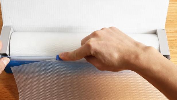 사용하기 쉬운 유연한 일회용 커팅 보드 시트 내장 슬라이딩 커터 Tailgating 캠핑 바베큐 또는 주방