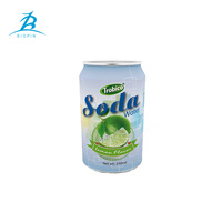 China Custom 310ml 330ml Metal Aluminum Beverage/Juice/Soft Drink/Soda Water Empty Packaging Tin Cans Companies