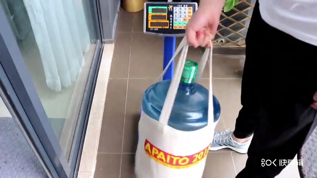 De alta calidad de embalaje de compras de bolsas de lona de rayas impreso personalizado bolso de totalizador de la lona con botón magnético.