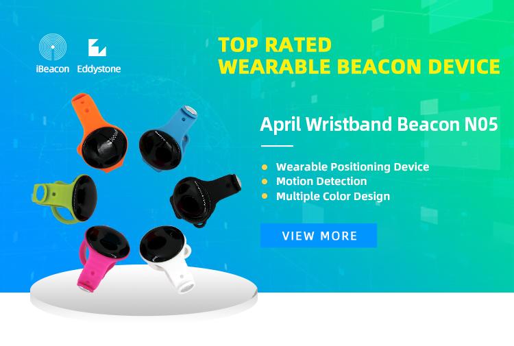 Bluetooth Bracelet With iBeacon Bluetooth Wristband and Eddystone Beacon