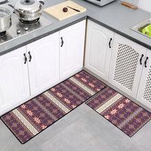 Длинный кухонный коврик для ванной, коврик для пола, домашний коврик для входа, Впитывающий Коврик для спальни, гостиной, современный кухонн...(Китай)
