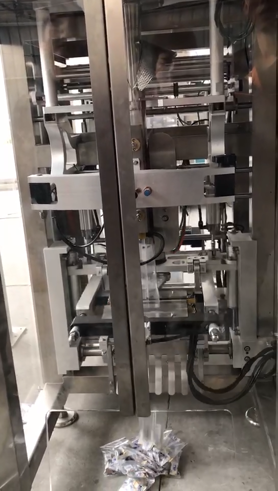 Newly Developed High Speed Packaging Machine For Packing Salad From BAOPACK