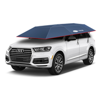 Folding electrical car cover umbrella automatic