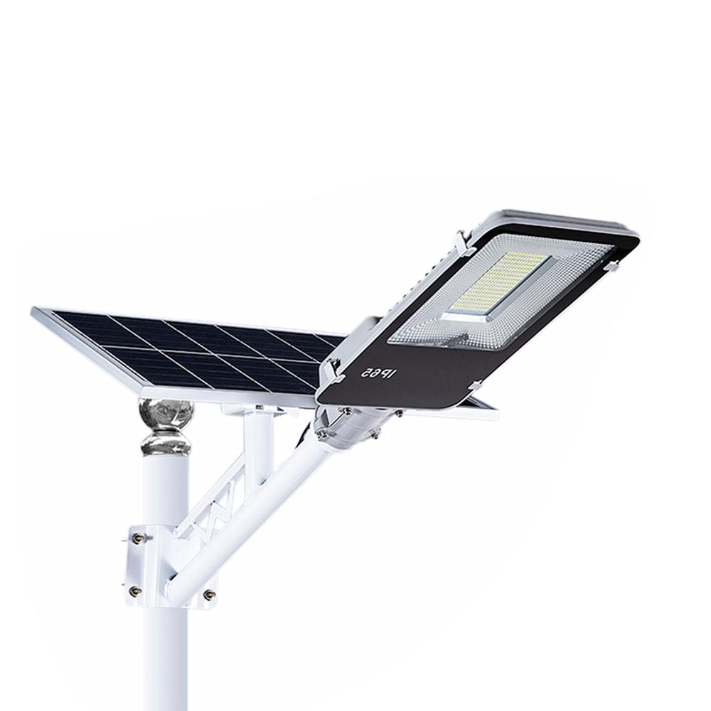 Solar Battery powered system Pole Lamp 100w 300w 400w 200w solar led street light