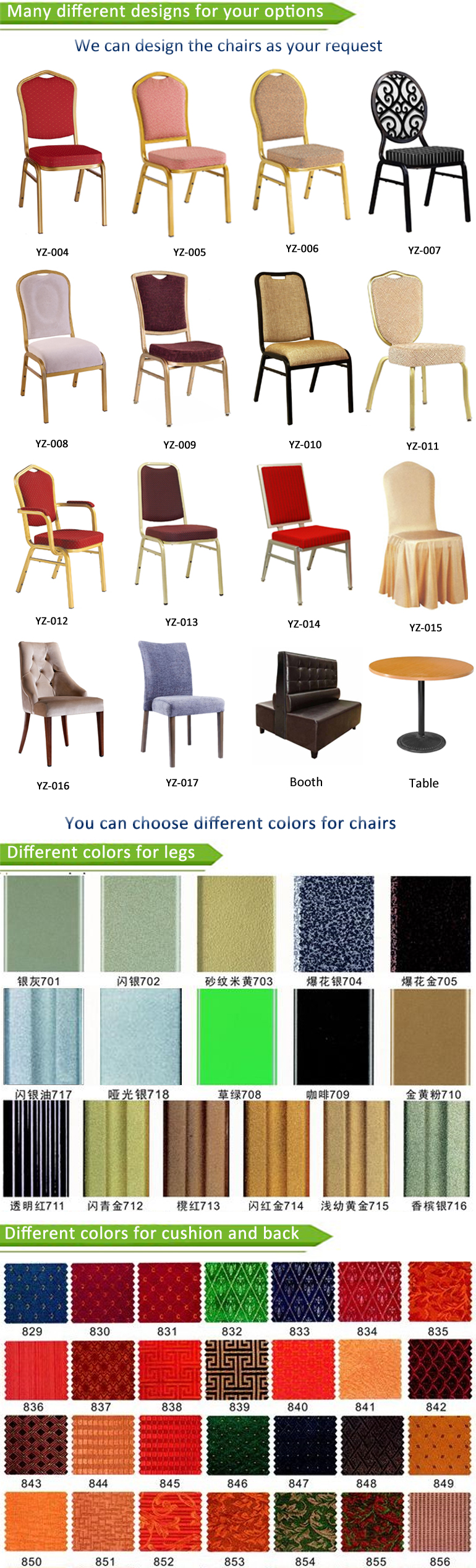 Gold Cheap Price Steel Hotel Furniture Church Used Dining Wholesale Stackable Aluminum Banquet Chair
