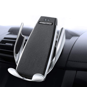 Shengwei Car Phone Holder Fast Charging S5 Car Wireless Charger For Car Air Outlet