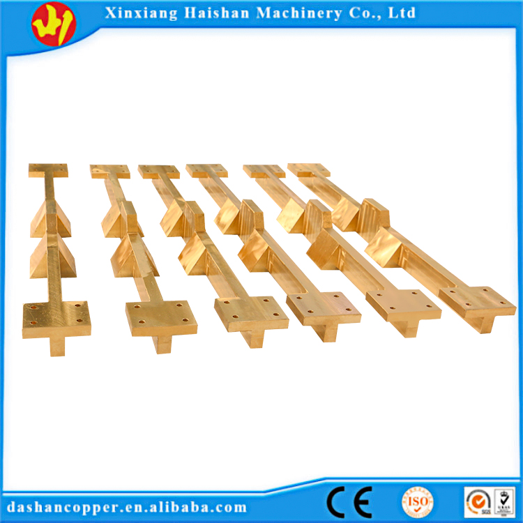 Henan Supplier using centrifugal casting  high density C93700  material Copper slide block for mining part