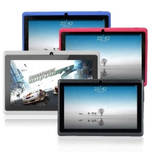 "7 ""<span class=keywords><strong>Allwinner</strong></span> A33 <span class=keywords><strong>Android</strong></span> 1G/8GB 1024x600TN Q88 <span class=keywords><strong>Tablet</strong></span> PC"
