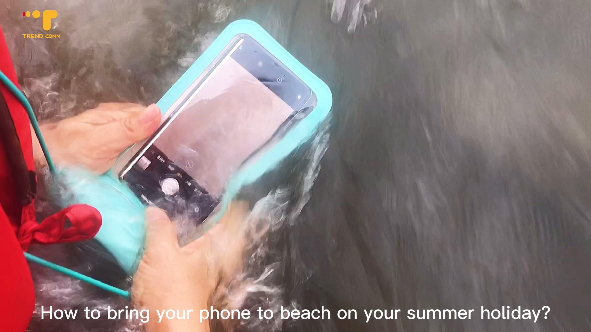 Durable Universal Beach Season New Products Mobile phone bag waterproof pouch for iphone Swimming