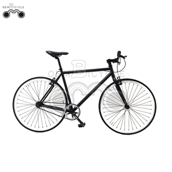 oem bicycle 700C black top quality double wall rim fixed gear bike