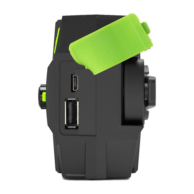 Отдых на природе Solar Power Bank портативный мобильный телефон зарядное устройство со светодиодным фонариком