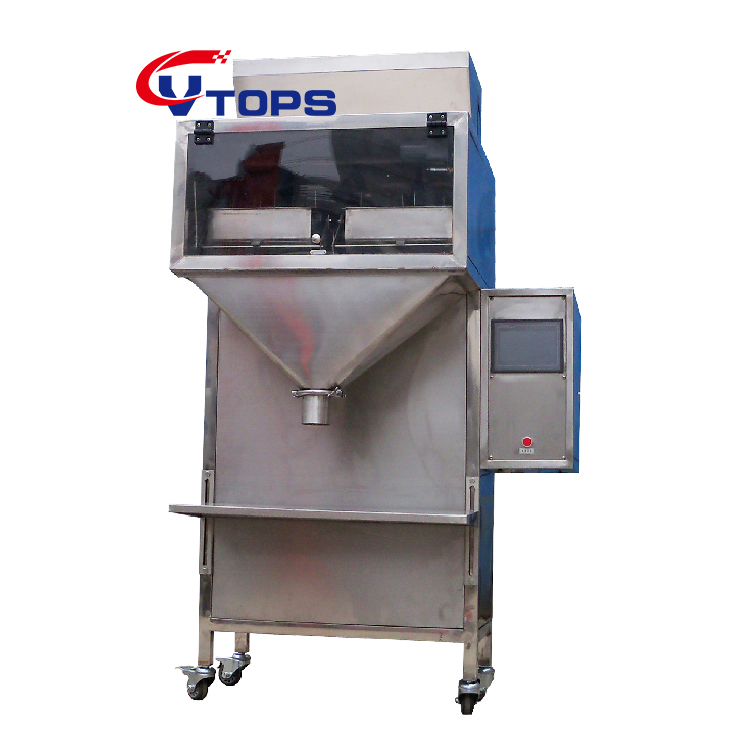 2020 Semi Automatic Vtops Vibratory Filler Granule Nuts Seeds Filling Packing Machine