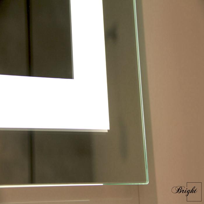 호텔 Frameless 사용자 정의 LED 조명 백라이트 라이트 벽 욕실 스마트 LED 미러