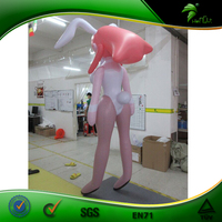 Customized Cartoon Beautiful Inflatable Sexy Girl Cute Inflatable Cartoon Characters