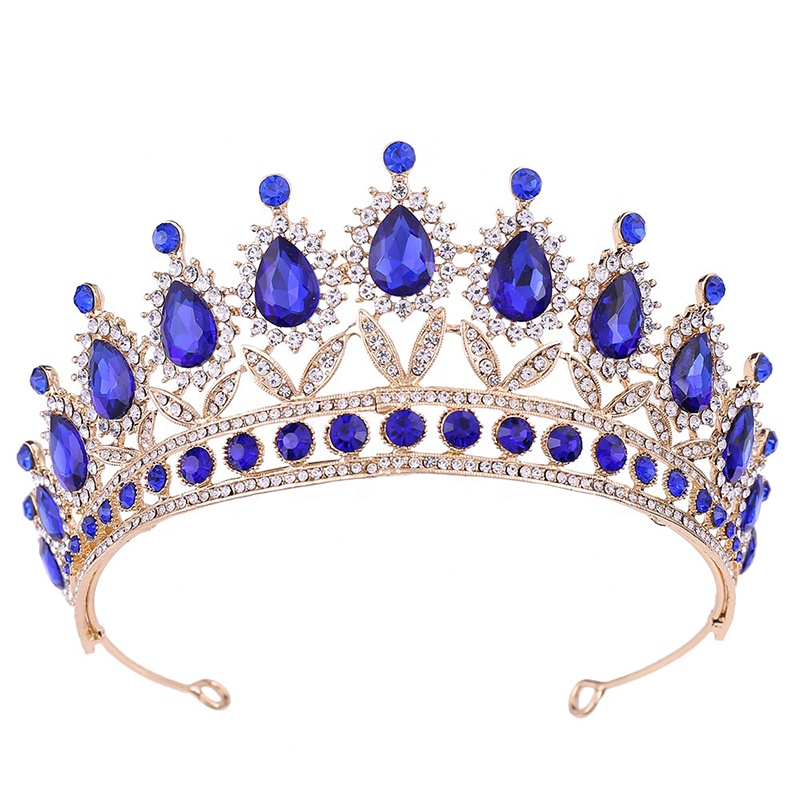 Fashion Luxury Crystal Wedding Bridal Jewelry Accessories Bride Pageant Prom Princess Tiaras <strong>Crowns</strong>