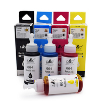 T664 T672 T674 Dye Ink Refill Ink Compatible For Epson Ink Printer L801 L850 L101 L351 L455